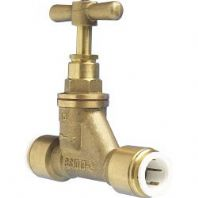 JG Speedfit Stop Valve - Brass - 15mm